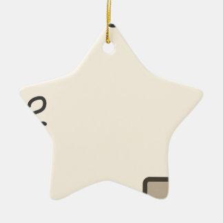 To do list ceramic ornament