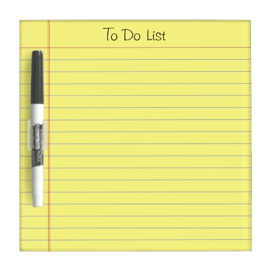 Use a to-do list every day