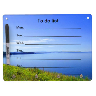 To do list Dry-Erase whiteboards