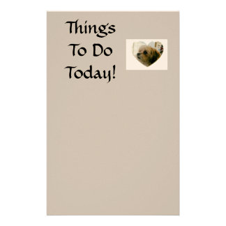 To Do List - Feat. Coco Latte' Stationery Design
