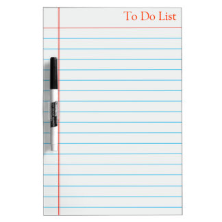 To do List Grocery Whiteboard Dry Erase Whiteboards