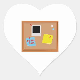 To-Do List Heart Sticker