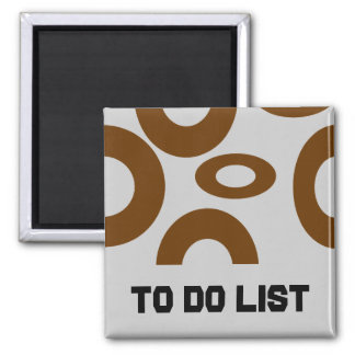 To DO List magnet