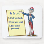 To Do List Mouse Pad