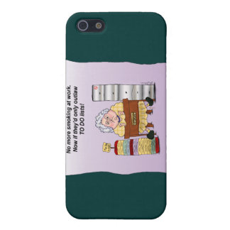 To Do List Office Work Funny Maw iPhone 4 Case