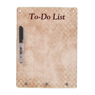 To-Do List Planner Dry Erase Board Dry Erase Board