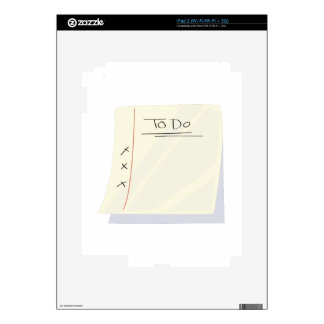 To Do List iPad 2 Skin