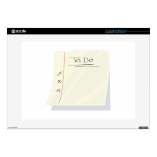 To Do List Laptop Decals