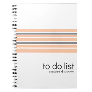 To-Do Lists checklist & planner notebook