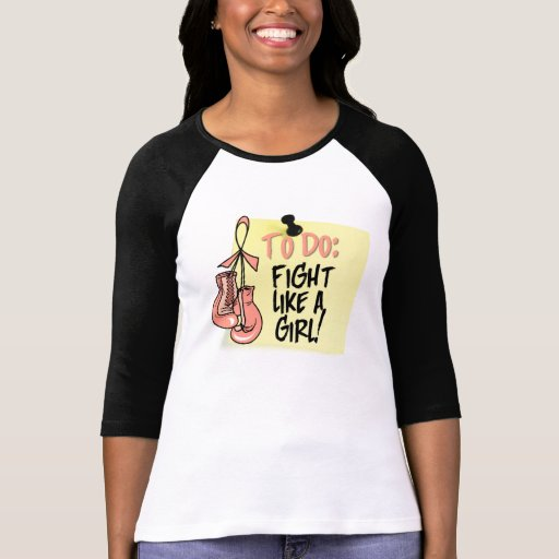 To Do Note - Fight Like a Girl Endometrial Cancer Tee Shirt