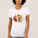To Do Note - Fight Like a Girl - Heart Disease T Shirt