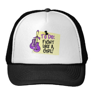 To Do Note - Fight Like a Girl - Leiomyosarcoma Hat