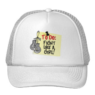 To Do Note - Fight Like a Girl  Parkinsons Disease Hat