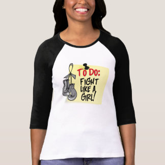 To Do Note - Fight Like a Girl  Parkinsons Disease Shirt