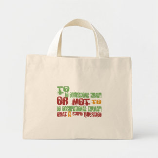To Do Occupational Therapy Mini Tote Bag