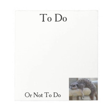 malhcreations To Do Or Not Notepad