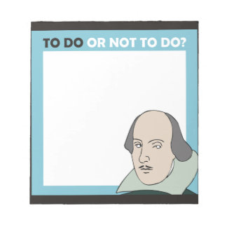 To Do or Not To Do Memo Pads