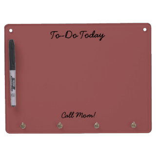 To-Do Today, Call Mom, Dry Erase Board
