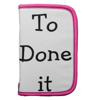 To Done it Planner