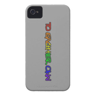 To Each Her Own Films iphone 4 case grey