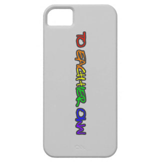 To Each Her Own iphone 5 Case Barely There Grey