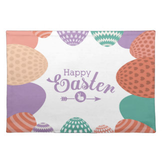 to easter placemat