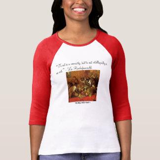 To eat is a necessity Women's Raglan T-Shirt