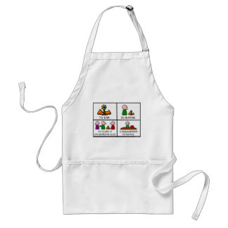 To Err is Human Adult Apron