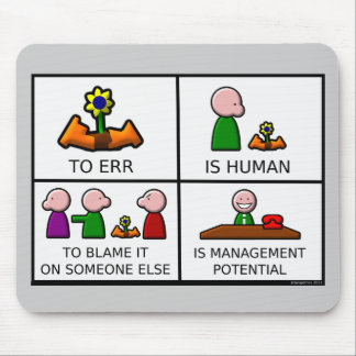 To Err is Human Mousepad