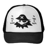 TO ERR IS HUMAN TO ARRR IS PIRATE Cap Mesh Hats