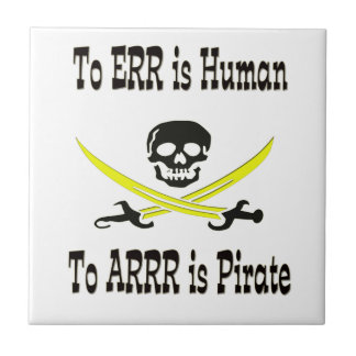 To Errr is Human, To Arrrr is Pirate! Tile