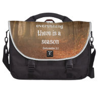 To everything there is a season Bible Verse Commuter Bags
