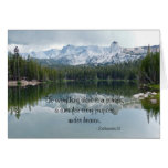 To Everything There is a Season, Blank Inside Greeting Card