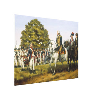 To Execute the Laws of the Union By Donna Neary Canvas Print