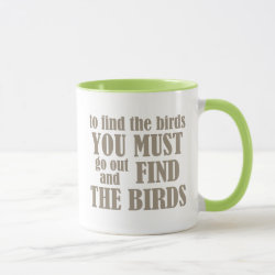 To Find The Birds Combo Mug