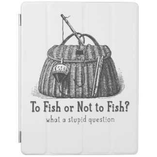 to fish or not stupid question vintage tackle box iPad smart cover