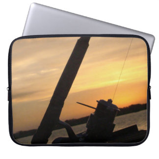 To Fishing moment Computer Sleeve