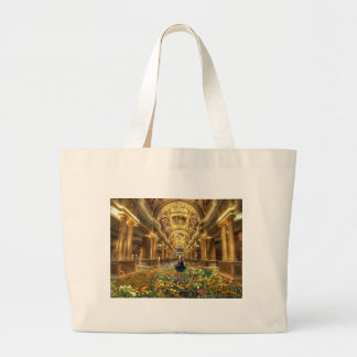 To flower hall, Floral resound Large Tote Bag
