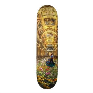 To flower hall, Floral resound Skateboards