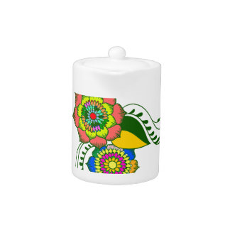 to flower mandala2 teapot