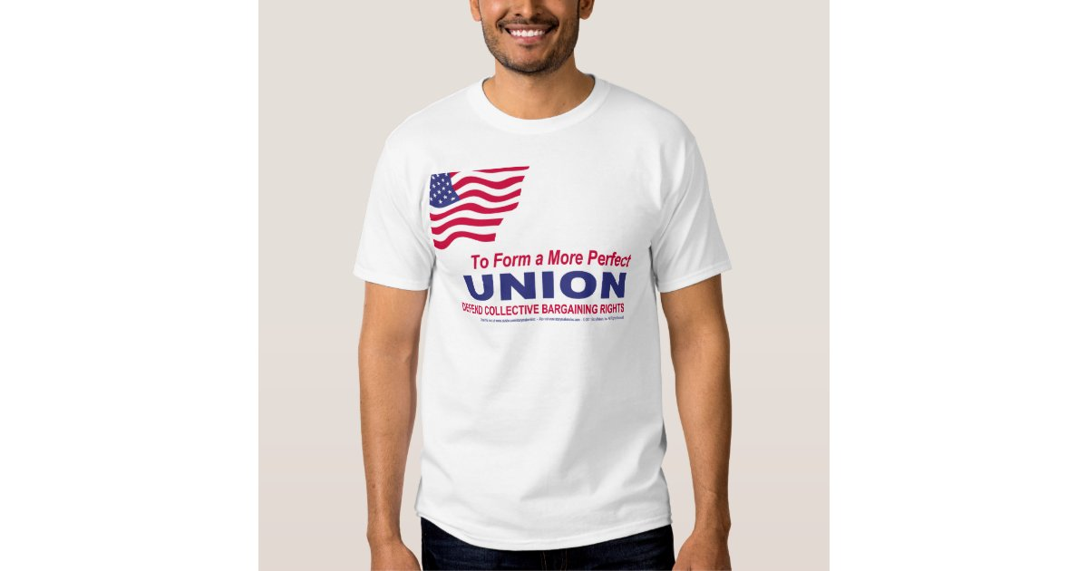 To Form A More Perfect Union T Shirt Zazzle