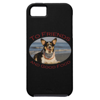 To Friends and Good Food iPhone SE/5/5s Case