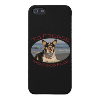 To Friends and Good Food iPhone SE/5/5s Cover