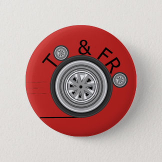 To & Fro Carshare badge Pinback Button