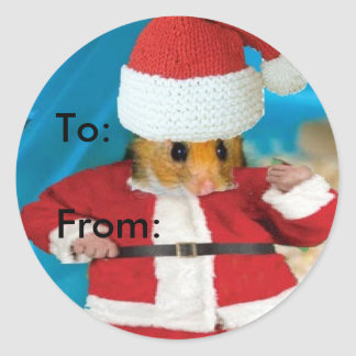 To-From Christmas label