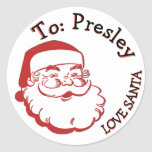 "TO FROM SANTA CHRISTMAS PRESENT LABELS GIFT TAG<br><div class=""desc"">TO FROM SANTA CHRISTMAS PRESENT LABELS GIFT TAG</div>"
