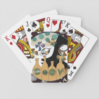 To gather its chance playing cards