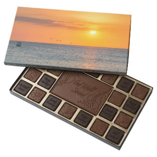 "To get late Sea Beach ""Santa Marta"" chocolate Box"