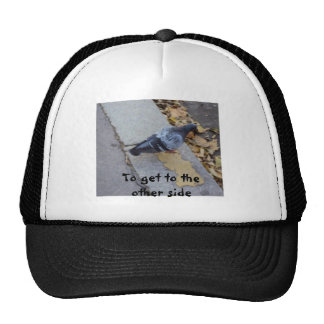To get to the other side mesh hat