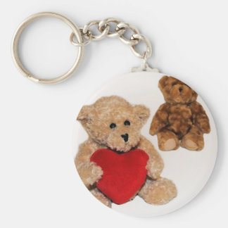 To give away a heart keychain